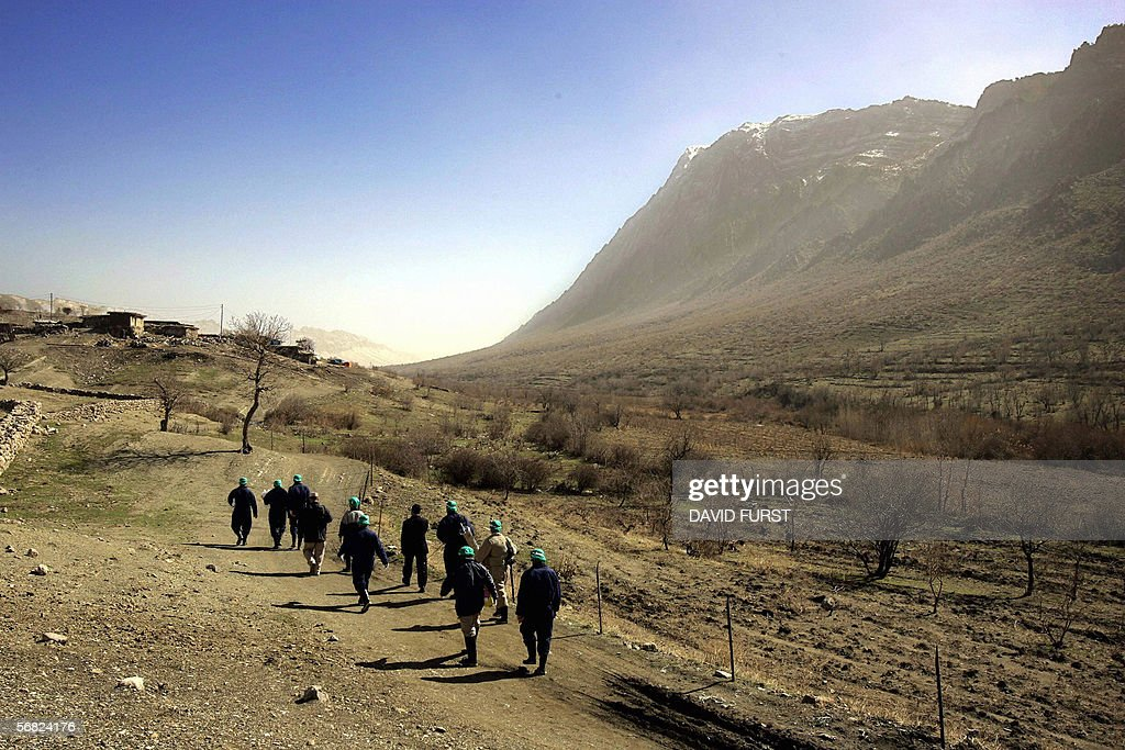 In an effort to help prevent the continuing spread of the H5N1 virus or 'Bird Flu' Iraqi government health officials trek village to village to round...