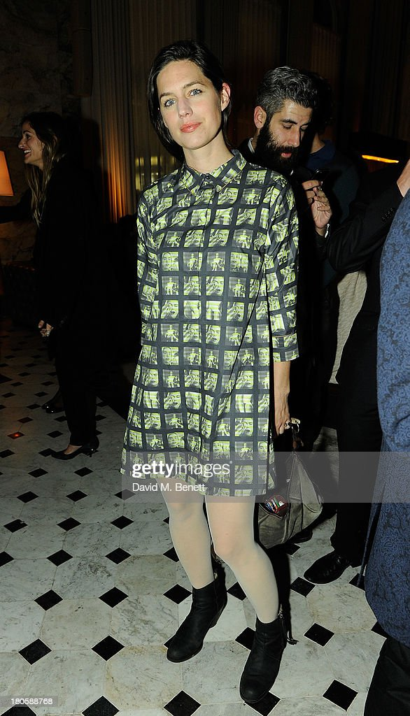 Pernilla Ohrstedt attends The London Edition opening celebrating the September issue of W Magazine at The London Edition Hotel on September 14, 2013 in London, England.