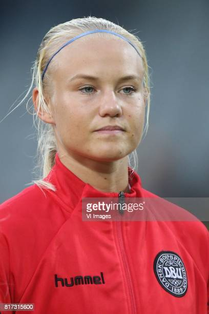 Pernille Harder of Denmark women during the UEFA WEURO 2017 Group A group stage match between Denmark and Belgium at the Vijverberg stadium on July...