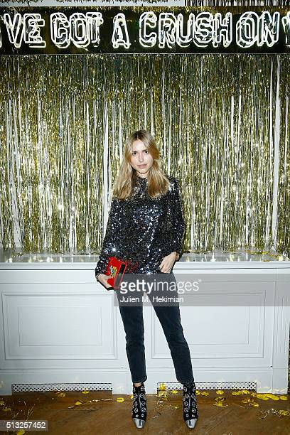 Pernille Teisbaek attends Prom 2016 Party hosted by Coach for the Paris Flagship opening as part of the Paris Fashion Week Womenswear Fall/Winter...