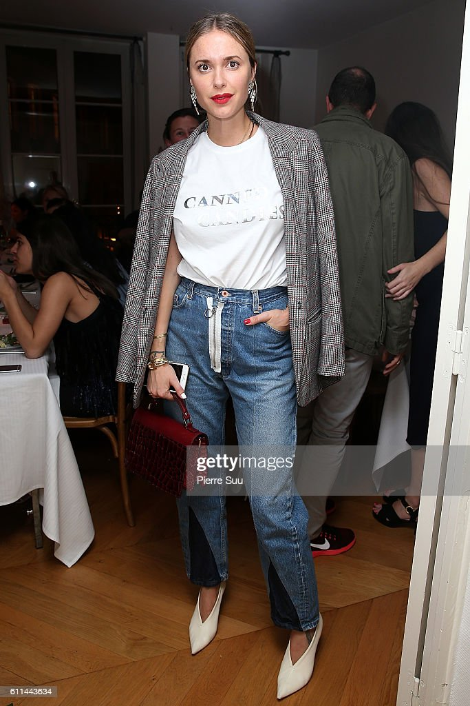 Jeweller Sophie Bille Brahe : Dinner Party  - Paris Fashion Week Womenswear Spring/Summer 2017