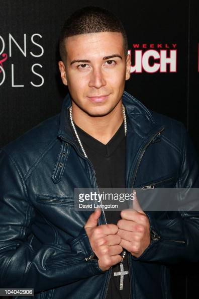 TV peronality Vinny Guadagnino attends In Touch Weekly's annual 'Icons Idols' celebration at Bar Marmont on September 12 2010 in West Hollywood...