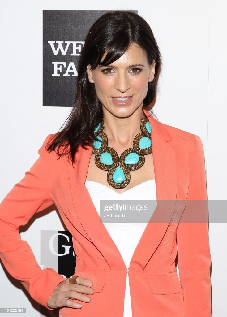 Perrey Reeves attends 'An Evening' benefiting The L.A. Gay & Lesbian Center at the Beverly Wilshire Four Seasons Hotel on March 21, 2013 in Beverly Hills, California.