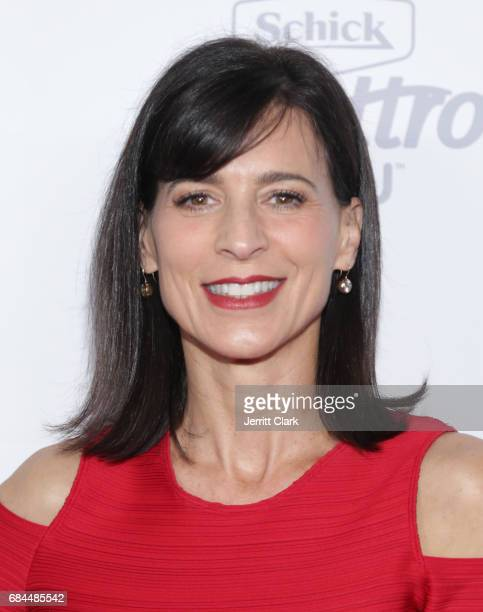Perrey Reeves attends OK Magazine's Summer KickOff Party at W Hollywood on May 17 2017 in Hollywood California