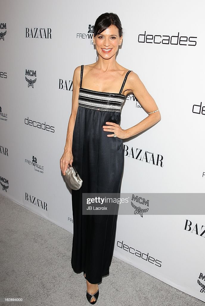 Perrey Reeves attends the Dukes Of Melrose launch hosted by Decades and Harper's BAZAAR at The Terrace at Sunset Tower on February 28, 2013 in West Hollywood, California.