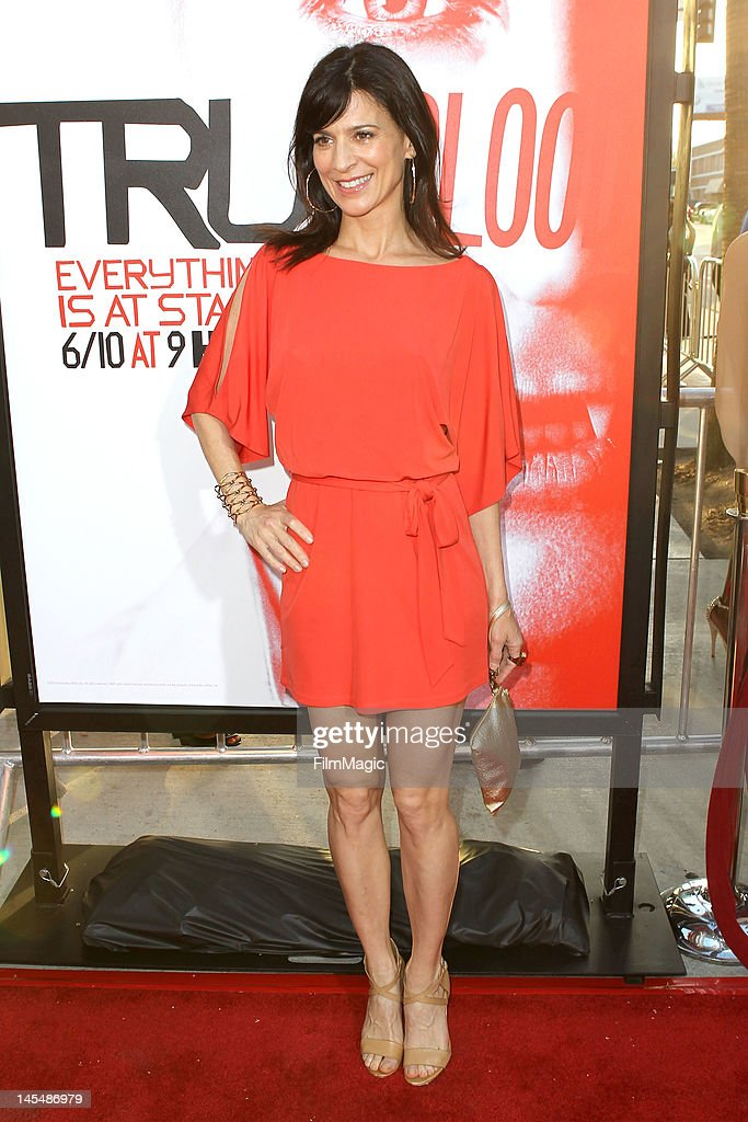 Perrey Reeves attends the HBO's Season 5 Premiere Of 'True Blood' at ArcLight Cinemas Cinerama Dome on May 30, 2012 in Hollywood, California.