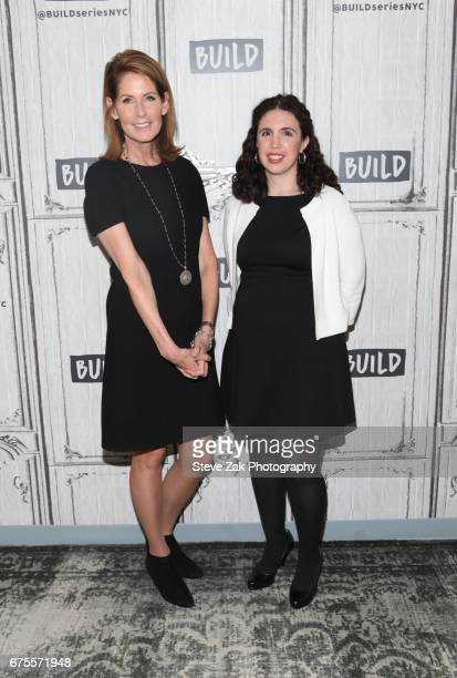 Perri Peltz and Sascha Weiss attend Build Series to discuss their new film 'Warning This Drug May Kill You' at Build Studio on May 1 2017 in New York...