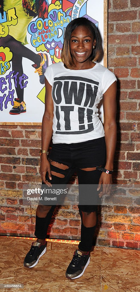 <a gi-track='captionPersonalityLinkClicked' href=/galleries/search?phrase=Perri+Shakes-Drayton&family=editorial&specificpeople=4542235 ng-click='$event.stopPropagation()'>Perri Shakes-Drayton</a> attends the London launch of NikeLab 1948 at Village Underground on June 11, 2014 in London, United Kingdom.