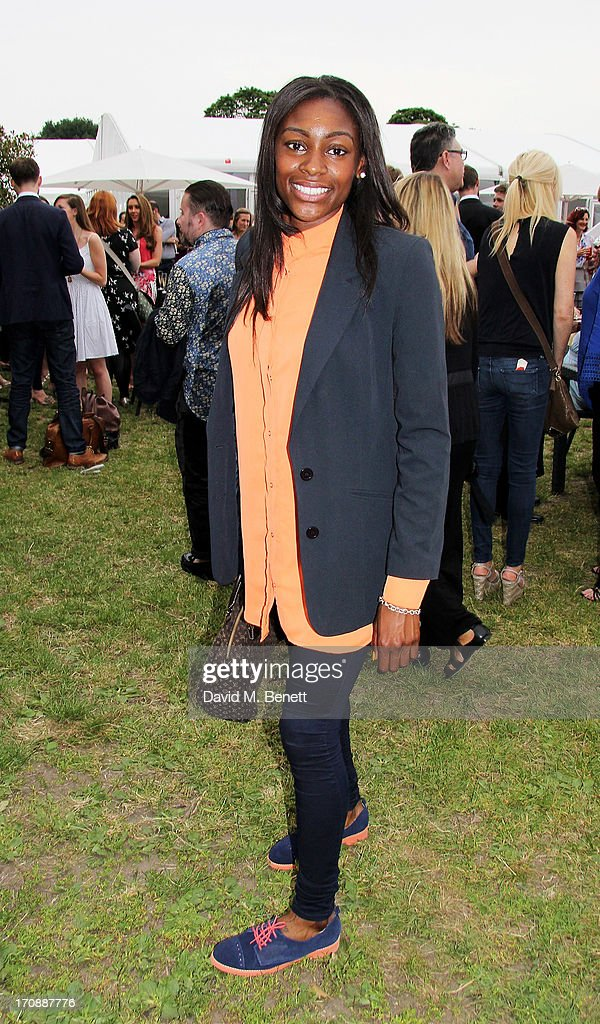Perri Shakes-Drayton attends the VIP Preview for 'Taste of London' at Regent's Park on June 19, 2013 in London, England.