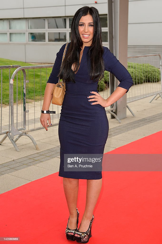 Perri Sinclair attends Essex Fashion Week - Autumn/Winter 2012 at Ceme on April 8, 2012 in Rainham, Greater London.