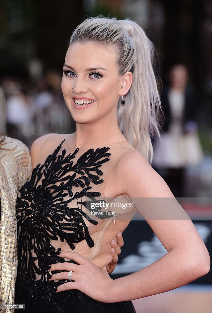 <a gi-track='captionPersonalityLinkClicked' href=/galleries/search?phrase=Perrie+Edwards&family=editorial&specificpeople=8378323 ng-click='$event.stopPropagation()'>Perrie Edwards</a> attends the World Premiere of 'One Direction: This Is Us' at Empire Leicester Square on August 20, 2013 in London, England.