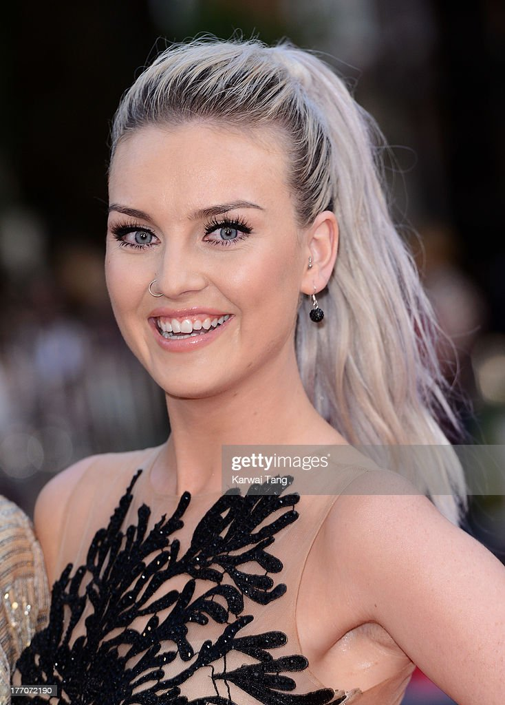 Perrie Edwards attends the World Premiere of 'One Direction: This Is Us' at Empire Leicester Square on August 20, 2013 in London, England.