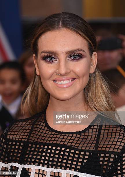 Perrie Edwards from Little Mix attends the Pride of Britain awards at The Grosvenor House Hotel on September 28 2015 in London England