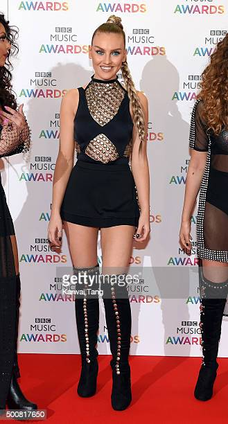 Perrie Edwards of Little Mix attends the BBC Music Awards at Genting Arena on December 10 2015 in Birmingham England
