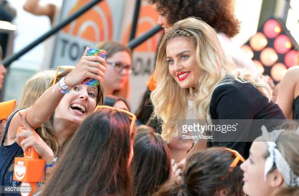 Perrie Edwards of 'Little Mix' attends the NBC's 'Today' show on June 17 2014 in New York New York