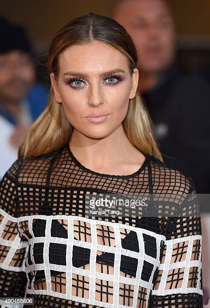 Perrie Edwards of Little Mix attends the Pride of Britain awards at The Grosvenor House Hotel on September 28 2015 in London England