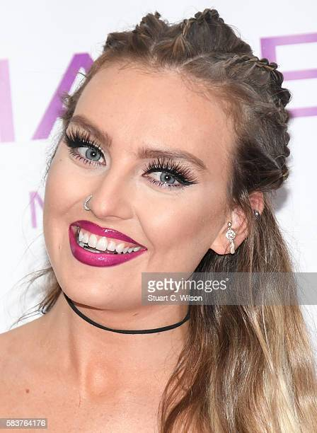 Perrie Edwards of 'Little Mix' launches their new fragrance 'Wishmaker' at Lakeside Shopping Centre on July 27 2016 in Thurrock England