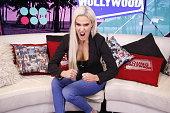 Lana Visits Young Hollywood Studio