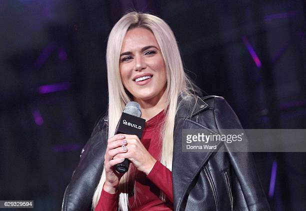 Perry appears to promote 'Total Divas' during the AOL BUILD Series at AOL HQ on December 12 2016 in New York City