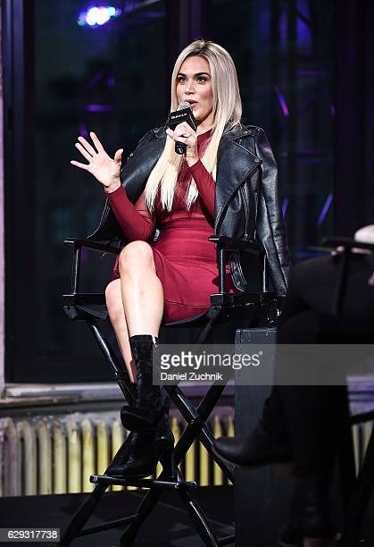 Perry attends AOL Build to discuss her show 'Total Diva's' at AOL HQ on December 12 2016 in New York City