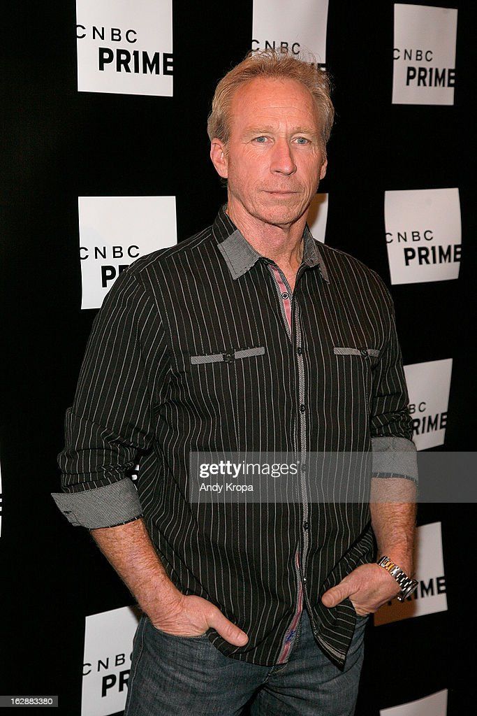 Perry Barndt attends the CNBC Prime Premiere Launch at Classic Car Club on February 28, 2013 in New York City.