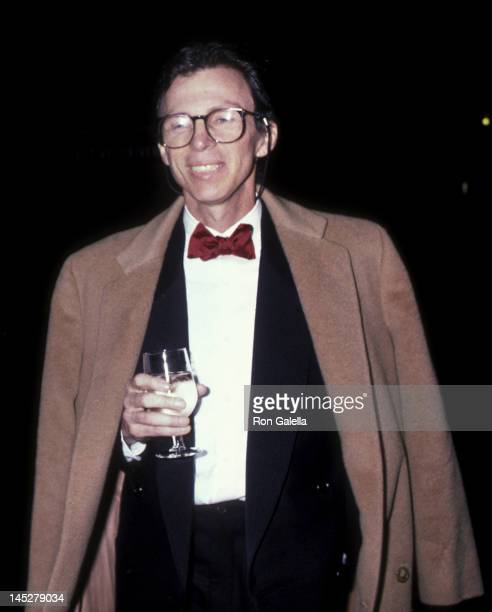 Perry Ellis attends Fifth Annual Council of Fashion Designers of America Awards on January 19 1986 at the New York Public Library in New York City