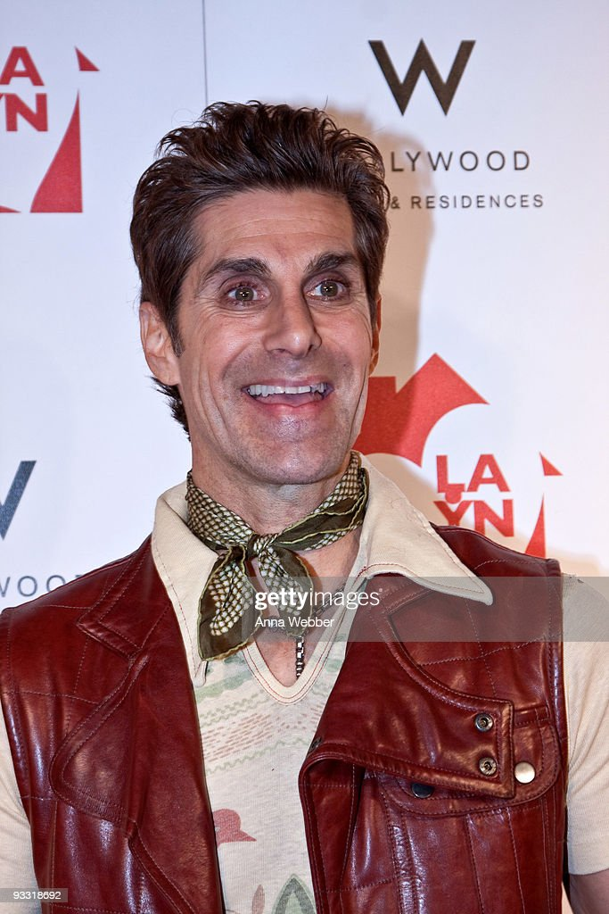 Perry Farrel arrives to Los Angeles Youth Network Benefit Rock Concert at the Avalon on November 22, 2009 in Hollywood, California.