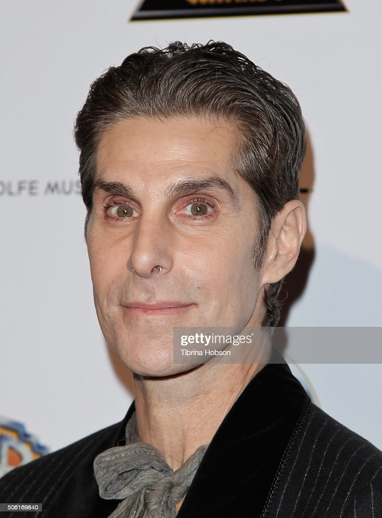 Perry Farrell attends the 6th annual Music Supervisors Awards at The Theatre at Ace Hotel Downtown LA on January 21 2016 in Los Angeles California