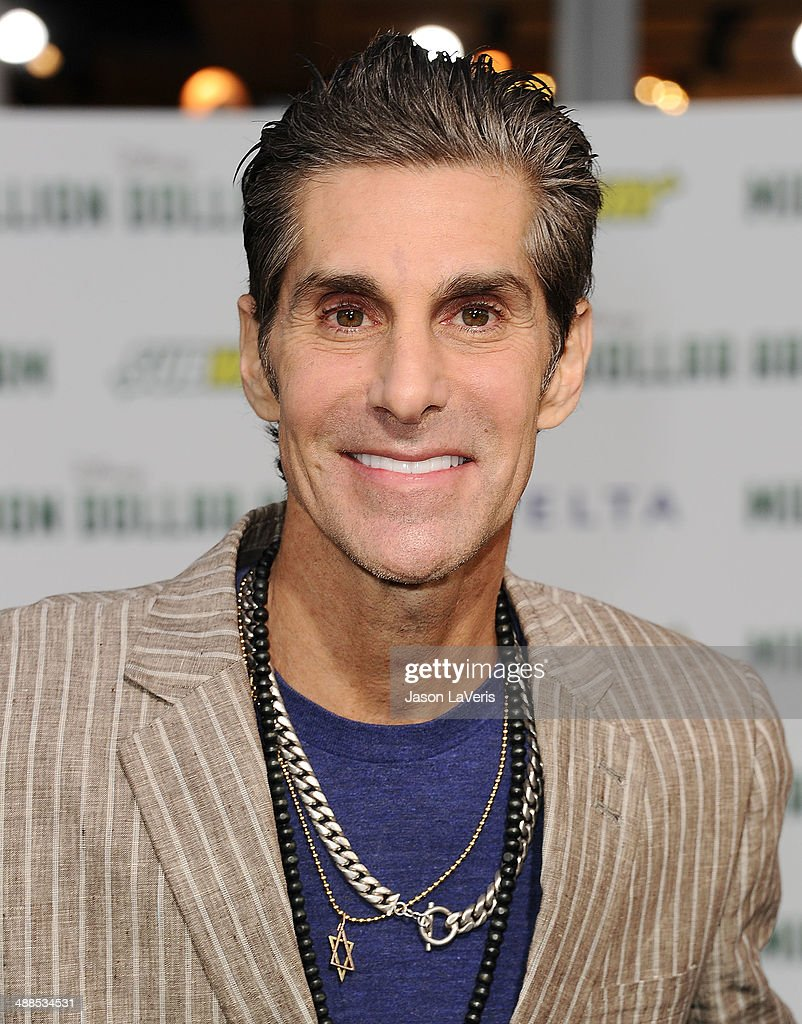 Perry Farrell attends the premiere of 'Million Dollar Arm' at the El Capitan Theatre on May 6, 2014 in Hollywood, California.
