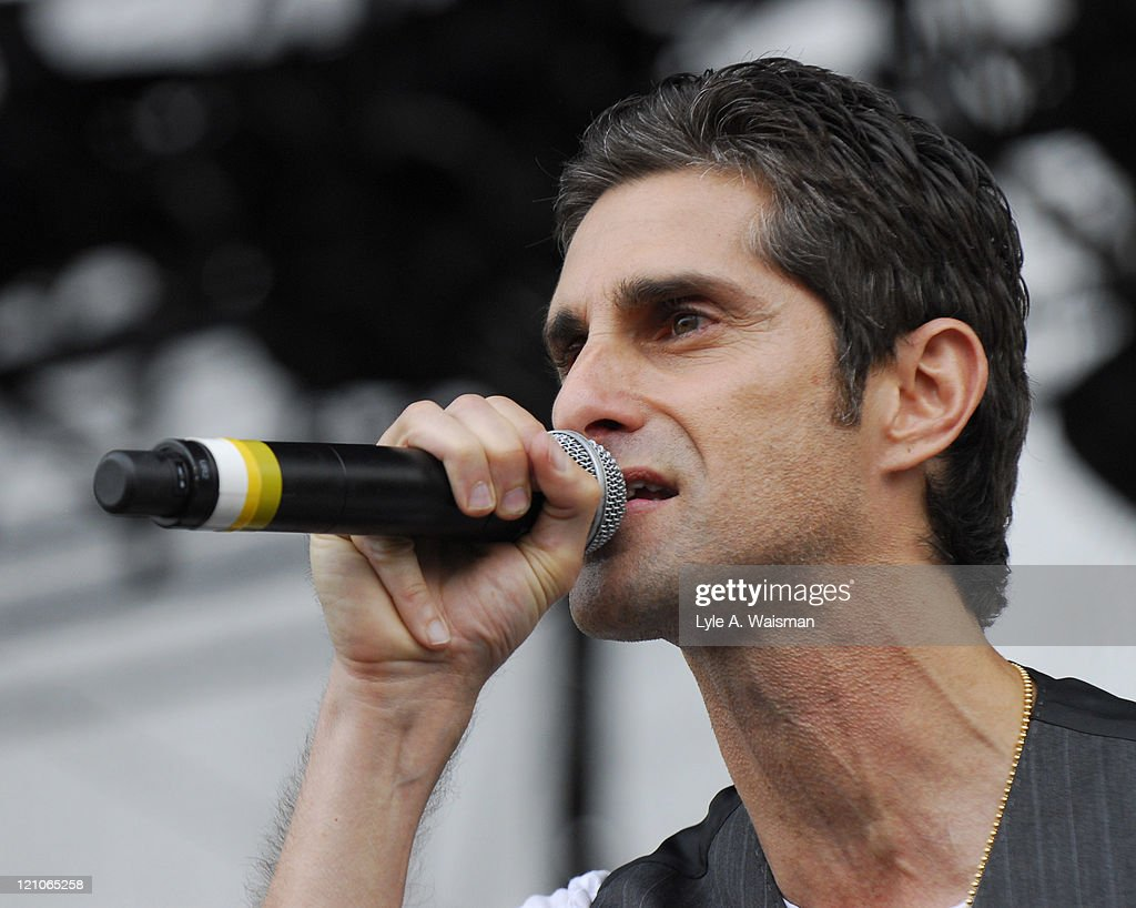 Perry Farrell during 2006 Lollapalooza - Day 2 at Grant Park in Chicago, Illinois, United States.