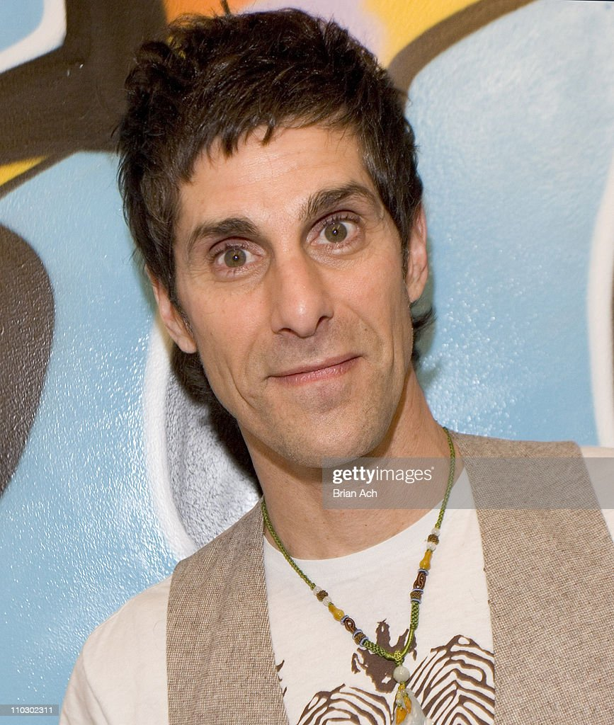 Perry Farrell during Perry Farrell and Kelly Rowland Visit FUSE's The Sauce at FUSE Studios in New York City New York United States