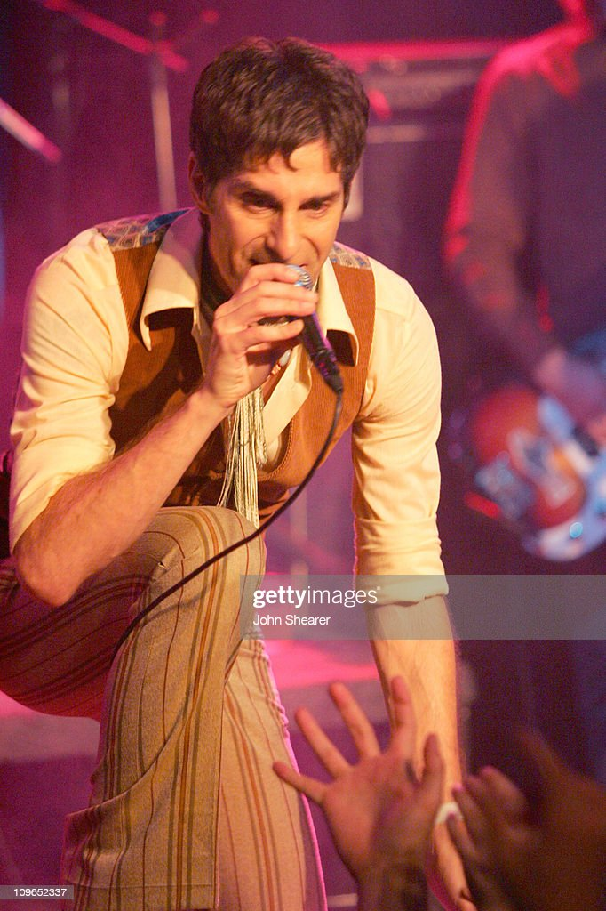 Perry Farrell during The Doors 40th Anniversary Celebration - Show and Backstage at Whisky A Go Go in Hollywood, California, United States.