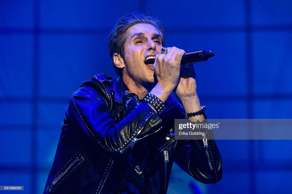 Perry Farrell of Jane's Addiction performs at Centennial Olympic Park on May 13 2016 in Atlanta Georgia
