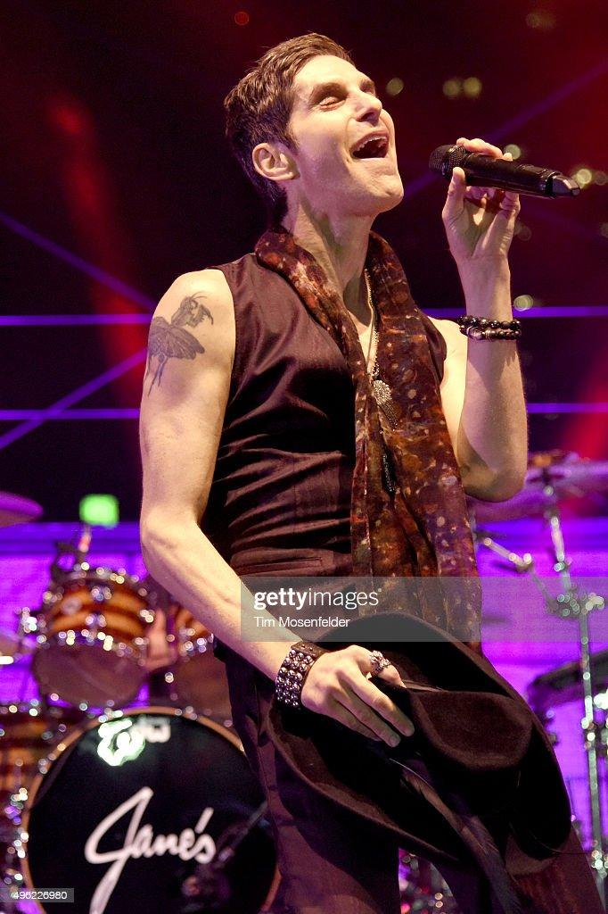 Perry Farrell of Jane's Addiction performs during Fun Fun Fun Fest 2015 at Auditorium Shores on November 7 2015 in Austin Texas