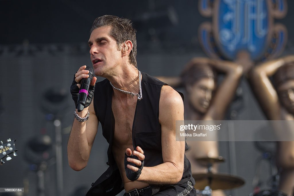 Perry Farrell of Jane's Addiction performs on day 3 of Bottle Rock Napa Valley Festival at Napa Valley Expo on May 11, 2013 in Napa, California.