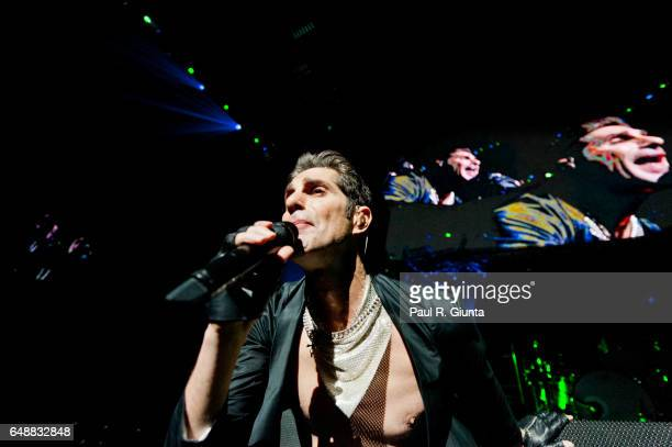 Perry Farrell of Jane's Addiction performs on stage during KROQ's Almost Acoustic Christmas 2011 at Gibson Amphitheatre on December 11 2011 in Los...