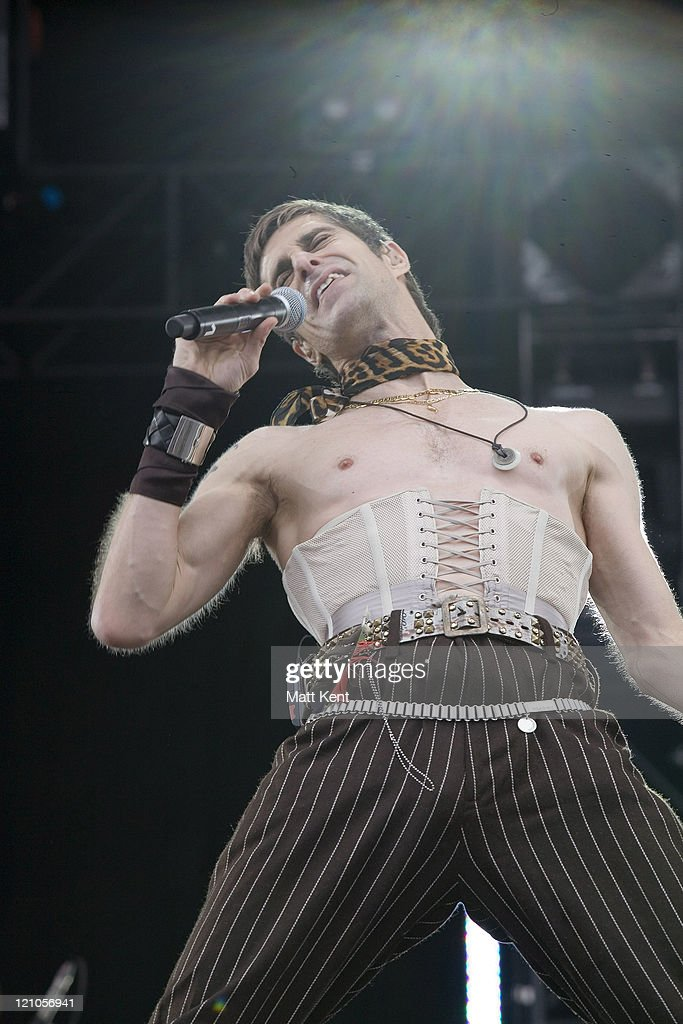Perry Farrell of Satellite Party during O² Wireless Festival 2007 - Hyde Park - Day 1 at Hyde Park in London, Great Britain.