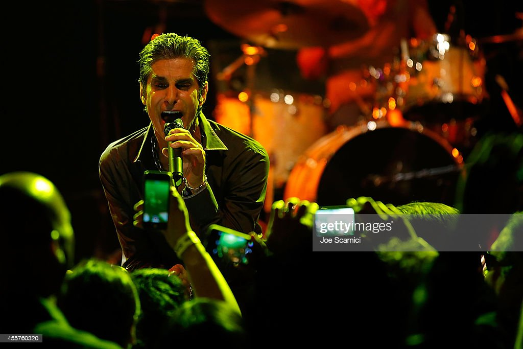 Perry Farrell performs onstage before he and Jane's Addiction are honored with The Elmer Valentine Award at House of Blues Sunset Strip on September...