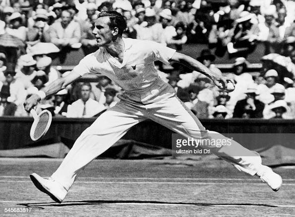 fred perry tennis player stock photos and pictures getty images. Black Bedroom Furniture Sets. Home Design Ideas