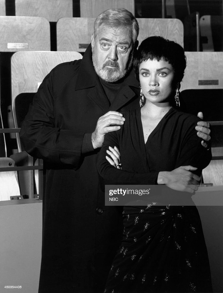 MOVIES 'Perry Mason The Case of the Silenced Singer' Pictured Raymond Burr Vanessa Williams