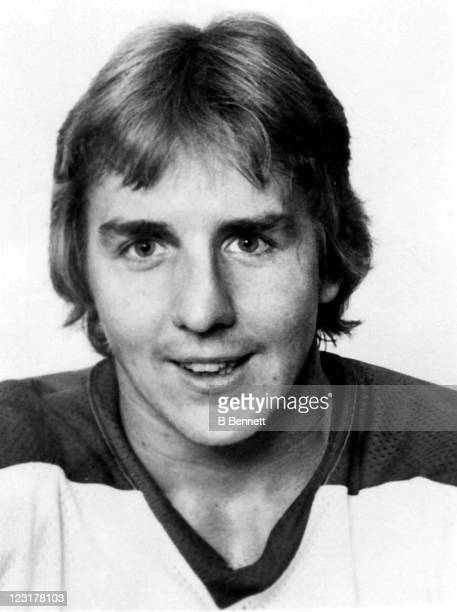 Perry Miller of the Winnipeg Jets poses for a portrait in September 1976 in Winnipeg Manitoba Canada