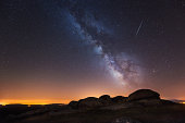Perseid and Milky Way
