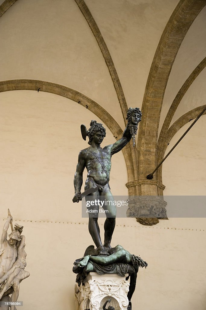 'Perseus with the head of Medusa' by Benvenuto Cellini (1500-1571)