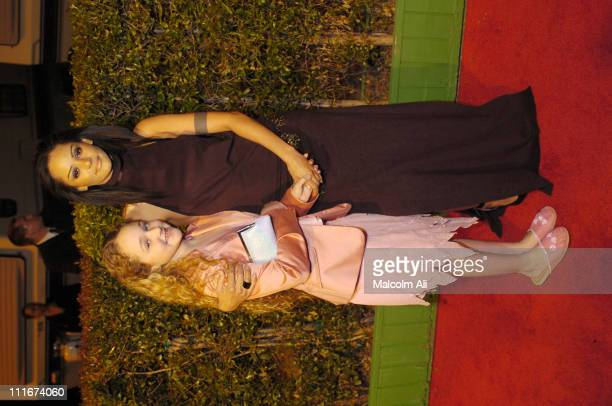 Persia White and daughter Mecca during 35th NAACP Image Awards Arrivals at Universal Ampitheatre in Universal City California United States
