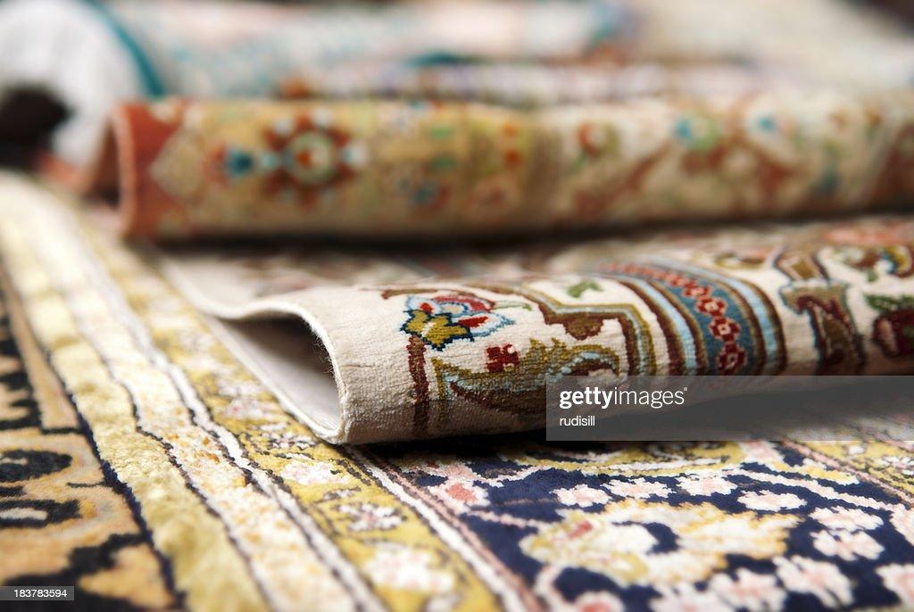 Persian Carpets : Stock Photo