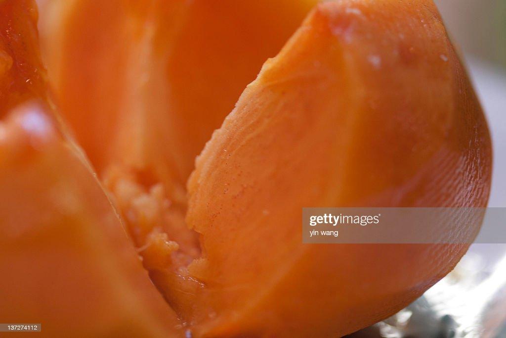 Persimmon fruit : Stock Photo