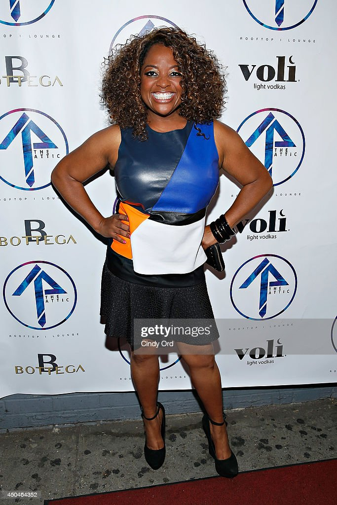 TV persoanlity/ comedian <a gi-track='captionPersonalityLinkClicked' href=/galleries/search?phrase=Sherri+Shepherd&family=editorial&specificpeople=693379 ng-click='$event.stopPropagation()'>Sherri Shepherd</a> attends the grand opening of The Attic Rooftop Lounge on June 11, 2014 in New York City.
