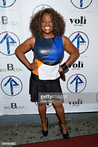 TV persoanlity/ comedian Sherri Shepherd attends the grand opening of The Attic Rooftop Lounge on June 11 2014 in New York City