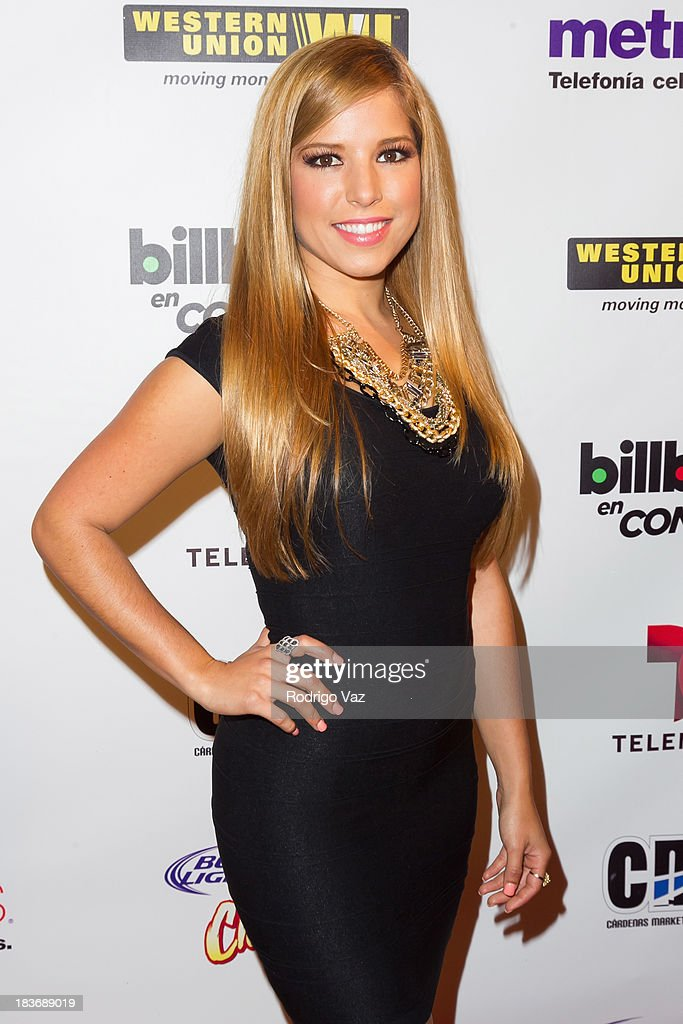 TV persoanlity Elva Saray attends Billboard In Concert Series presents Calibre 50 at The Conga Room at L.A. Live on October 8, 2013 in Los Angeles, California.
