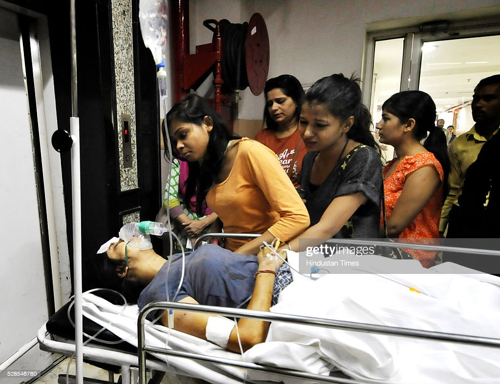 One person was critically injured in the accident was admitted to Kailash Hospital as a private bus rammed a school bus from behind in between which an auto rickshaw got severely crushed led to the death of two people at sector 44, on May 5, 2016 in Noida, India. Two persons, including a woman IT employee, died in an accident at Sector 44 area on Thursday. The incident occurred at about 8 am when the deceased, Pragya Singh, 22, was travelling in an autorickshaw with her colleague Navita Verma, 24. Three children of the Marigold Public School, who were sitting on the rear seat of the bus, were also injured in the accident. However, they were discharged after the primary treatment.